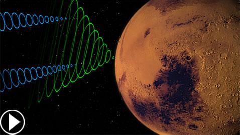 إستمعوا لأول مرة بالتاريخ إلى صوت المريخ