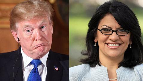 عضوة الكونغرس رشيدة طليب الفلسطينية الاصل: ترامب خنزير عنصري!