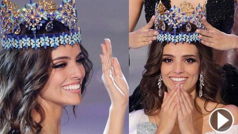 المكسيكية فانيسا بونز تتوج بلقب ملكة جمال العالم 2018 .. فيديو وصور