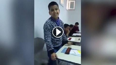 فيديو مذهل: طفل عربي عبقري يتحدى الآلة الحاسبة
