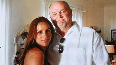 والد ميغان ماركل يكشف تفاصيل مثيرة تتعلق بحفل زفاف ابنته الأول..