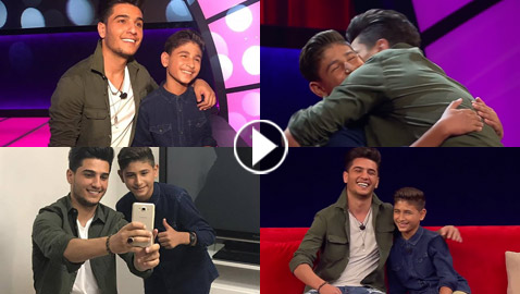 محمد عساف يفاجئ طفل فلسطيني ببرنامج (نجوم صغار) مع أحمد حلمي