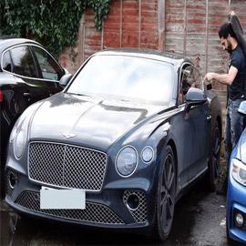 بالصور: سيارة جديدة للنجم محمد صلاح بـ6 ملايين جنيه