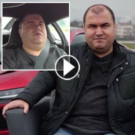 فيديو وصور: رجل أعمى يحقق حلمه ويقود سيارة فاخرة بسرعة جنونية!
