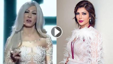 فيديو رزان تصف نفسها (أنا أنثى أنا خنثى، انا شيميل) وأصالة ترد (يقصف  ..