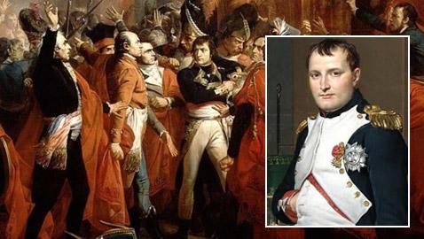 هكذا اجتاح نابليون بونابرت البرلمان بجيشه وأنهى الثورة الفرنسية