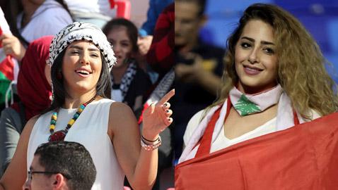 بالصور.. حسناوات كأس آسيا في الإمارات