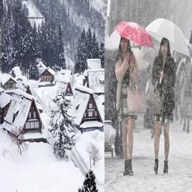 صور مدهشة..  تعرّفوا إلى أكثر مدينة تتساقط فيها الثلوج في العالم!