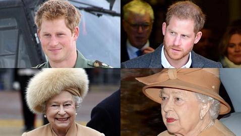 صور أفراد العائلة المالكة البريطانية فى تحدي الـ10 سنوات