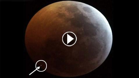 بالفيديو.. رصد وميض غامض على سطح القمر أثناء خسوفه الدامي!