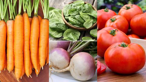 خضراوات من المفضل أن تقدم ساخنة أو مطبوخة ففائدتها أكبر بعد الطهي