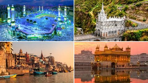 بالصور: أكثر الأماكن المقدسة روعة وجمالا في العالم كأنها من الخيال!