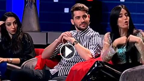فيديو شجار بين ماريا نديم نجمة اكس فاكتور وكريمة غيث من ستار أكاديمي!