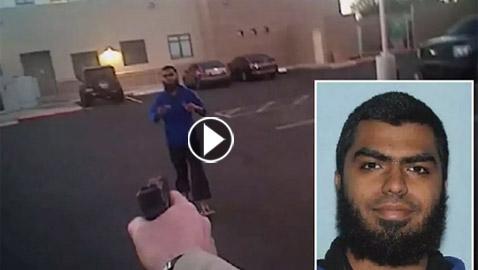 بالفيديو: موالي لداعش يستدرج الشرطة الأميركية ويسقط برصاصتين