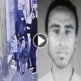 فيديو يظهر لحظة تفجير ارهابي نفسه بوسط القاهرة