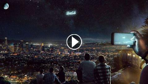 بالفيديو.. الإعلانات التجارية ستُصبح في السماء