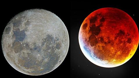 صور مذهلة للقمر بشكل لم تشاهده من قبل