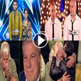 فيديو وصور عرب غوت تالنت: مواهب مميزة والحجارة تبكي الجميع