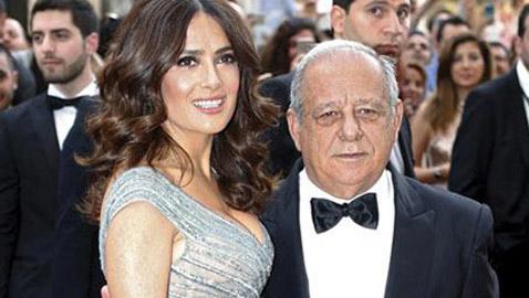 ماذا تعرفون عن سامي حايك، والد سلمى حايك اللبناني؟ فيديو وصور
