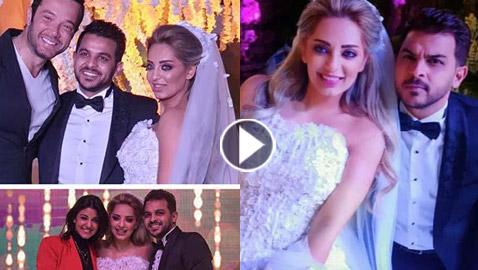 فيديو وصور زفاف مفاجئ وسري للفنان محمد رشاد والاعلامية مي حلمي.. الف مبروك