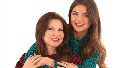 والدة مايا رعيدي ملكة جمال لبنان، نسخة من جورجينا رزق! بالصور