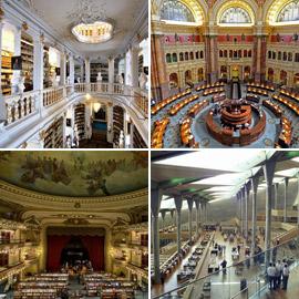 بالصور: تعرفوا على أجمل وأبرز المكتبات القديمة والحديثة في العالم