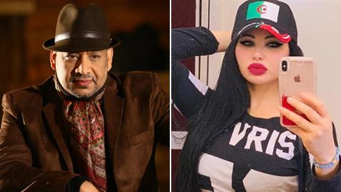 الفنانة الجزائرية ياسمين نيار تشتكي المصري عصام كاريكا للرئيس السيسي!