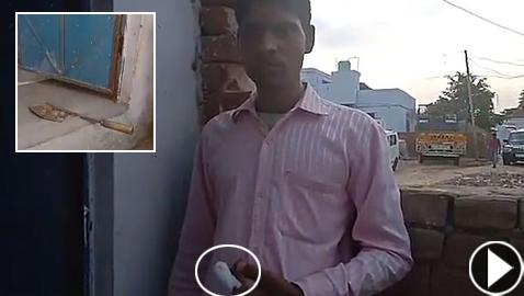 بالفيديو والصور: هندي يقطع إصبعه بعد أن صوّت بالخطأ لحزب منافس