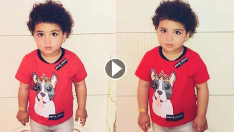 صور وفيديو: ابنة دنيا بطمة (غزل) كبرت وأصبحت نسخة من شقيقتها حلا الترك
