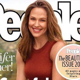 مجلة أمريكية تختار (جنيفر غارنر) كأجمل امرأة للعام وتضعها على غلافها