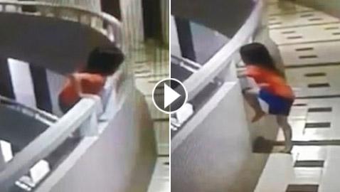 فتاة تعاني من المشي أثناء النوم تنجو بأعجوبة بعد سقوطها من شرفة بالطابق الـ11