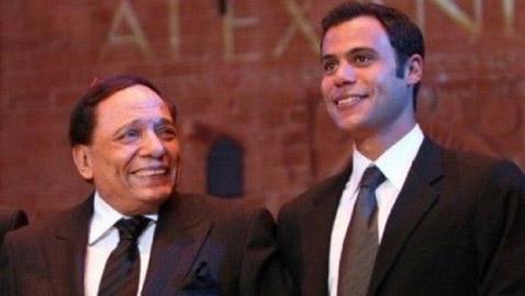 ما هو رأي عادل امام في مسلسل نجله محمد إمام ((هوجان))