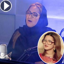 فيديو: المطربة المغربية عزيزة جلال تغني (مستنياك) بعد غياب 35 عاما