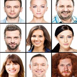 اختر الشخص الذي يعجبك من بين هذه الصور، واعرف ما يقوله عن شخصيتك!