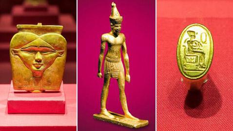 170 قطعة من ذهب الفراعنة بمصر القديمة في معرض أثري ألماني
