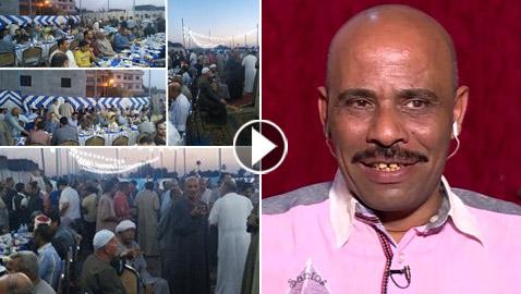 قبطي مصري ينظم سنويا مائدة إفطار للصائمين تكلفه 30 ألف جنيه