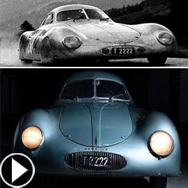 أغلى سيارة بورشه هي من طراز 1939 وصنع منها 3 فقط! فيديو