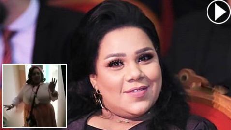 فيديو طريف: شيماء سيف ترقص بليونة وخفة وسرعة رغم  وزنها الزائد