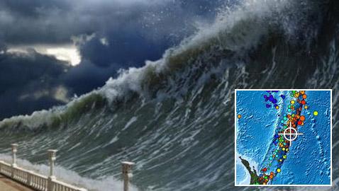 زلزال عنيف يضرب نيوزيلندا والتحذير من حدوث تسونامي بسببه!