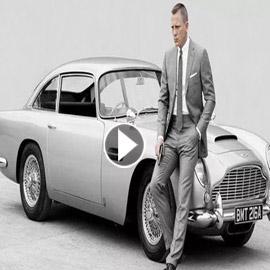 سيارات جيمس بوند الشهيرة معروضة للبيع.. فيديو وصور