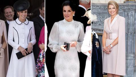 لقاء مميز يجمع ثلاثة من أكثر ملكات العالم أناقة.. شاهد الصور