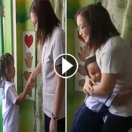 فيديو: معلمة فلبينية تبتكر طريقة جديدة لتحية طلابها باختياراتهم الخاصة