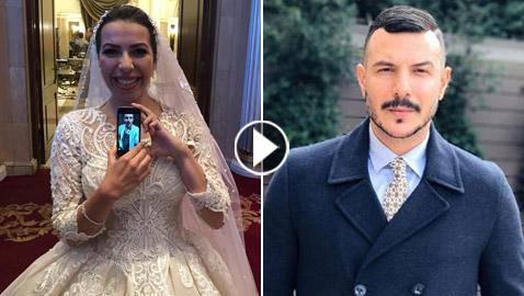 مفاجأة العمر لعروس مصرية: باسل خياط يفاجئ احدى معجباته في حفل زفافها..  ..