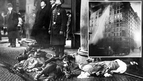 سيجارة قتلت 146 شخص بمصنع بنيويورك بأسوأ كارثة صناعية بالتاريخ