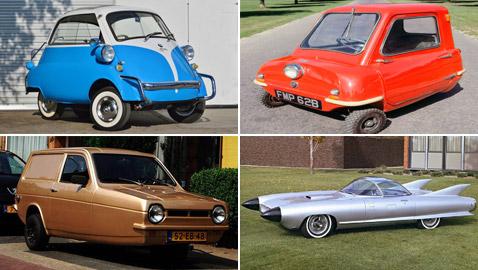 أغرب السيارات في التاريخ.. بعضها تحول إلى تحف فنية ميكانيكية نادرة
