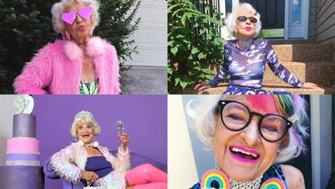 قصة أكبر ناشطة على مواقع التواصل الاجتماعي.. عمرها 90 عاماً