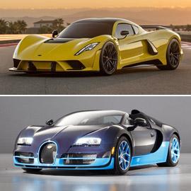بالصور: إليكم أسرع السيارات الخارقة في العالم لعام 2019