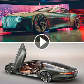 سيارة بنتلي المستقبلية: لن تصدق كيف ستكون!! فيديو وصور