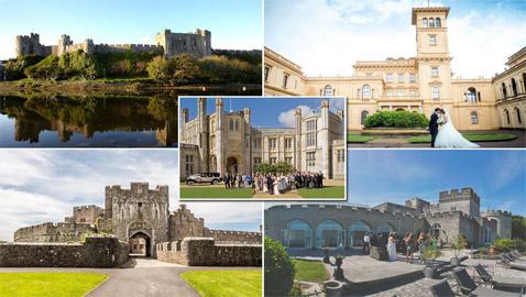 قصور ملكية وقلاع قديمة ساحرة للاحتفال بحفل زفاف مميز فاخر