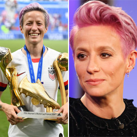 اللاعبة المثلية التي قادت الفوز بكأس العالم لكرة القدم ترفض مقابلة  ..